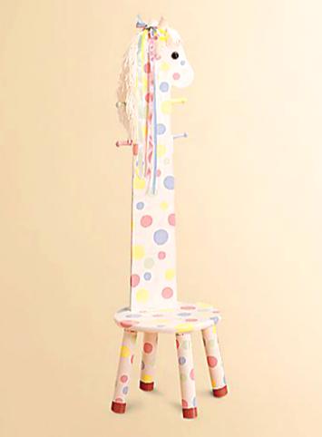 Girl's Wooden Stool