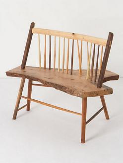 Windsor Wooden Bench Handmade Akimbo Style