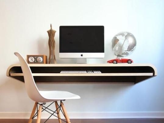 Float Wall Desk By Dario Antonioni - Minimilisim