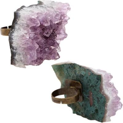 Astraleye Crystal Jewelry Amethyst Ring