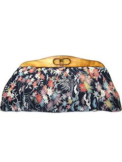 Uroco designed Japanese Kimono clutch Bag