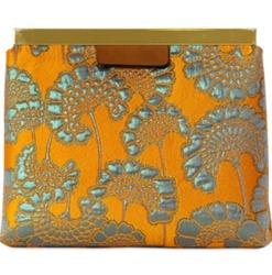 Luxurious Brocade Marni Clutch Bag