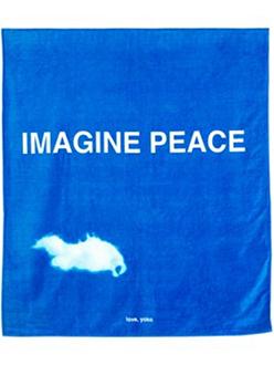 Art Production Fund Yoko Ono Beach Towel