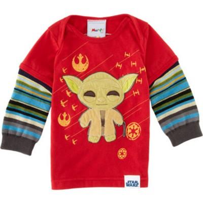 Cute Morf Boys Yoda T Shirt Long Sleeve