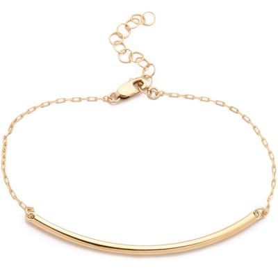 Delicate Gold Chain Bracelet Kristen Elspeth Jewelry
