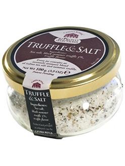 Best Italian Black Truffle Salt Casina Rossa Truffle Salt