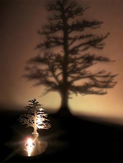 Chic Lighting Adam Frank Lumen Oil Candle Shadow Projectors