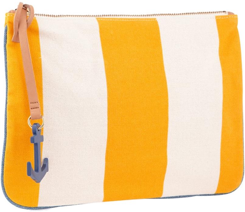Chic Malene Birger Striped Clutch Bag