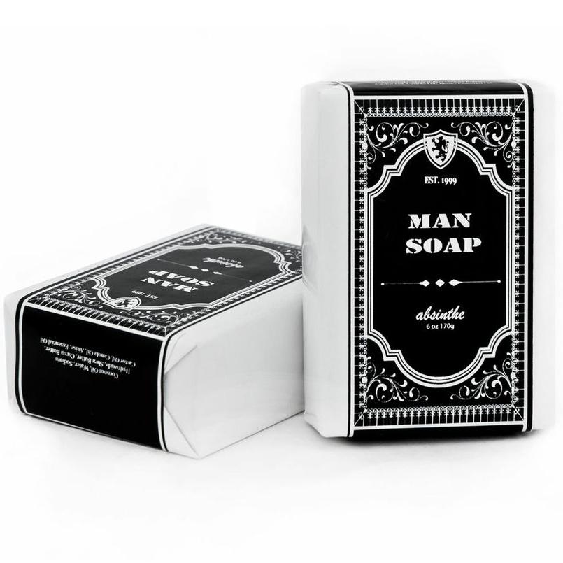 Mens Absinthe Organic Vegan Soap