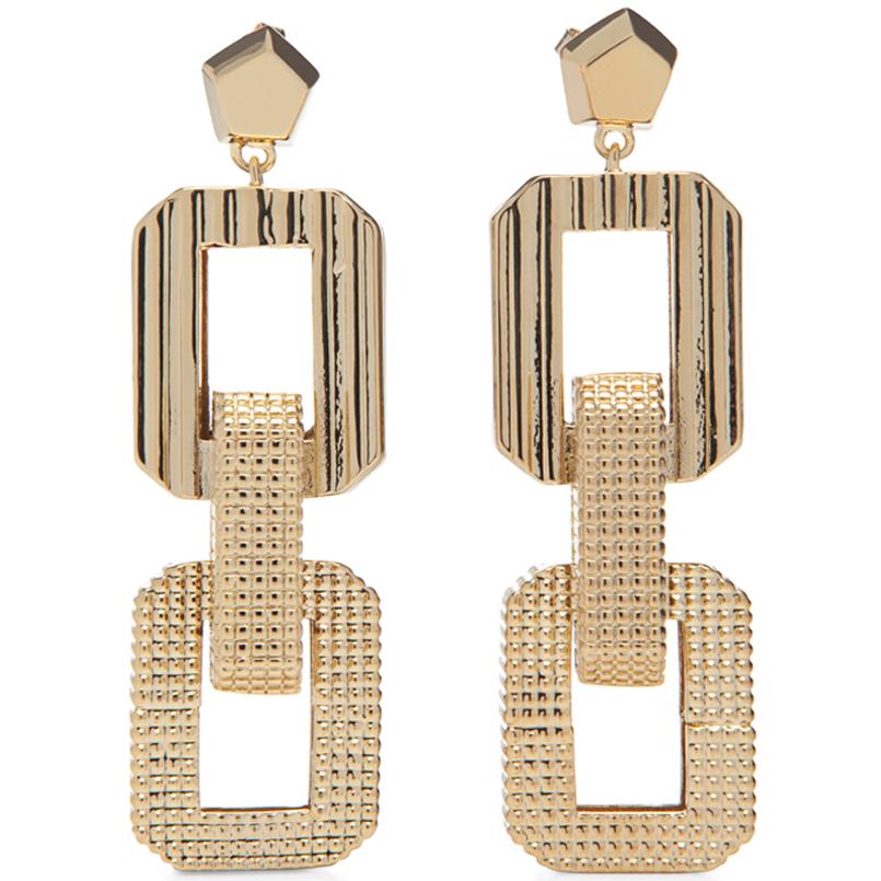 Eddie Borgo Jewelry Chic Art Deco Earrings