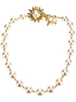 Vintage Coco Chanel Pearl Necklace