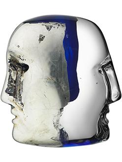 Modern Crystal Gifts Kosta Boda Brains Sculpture