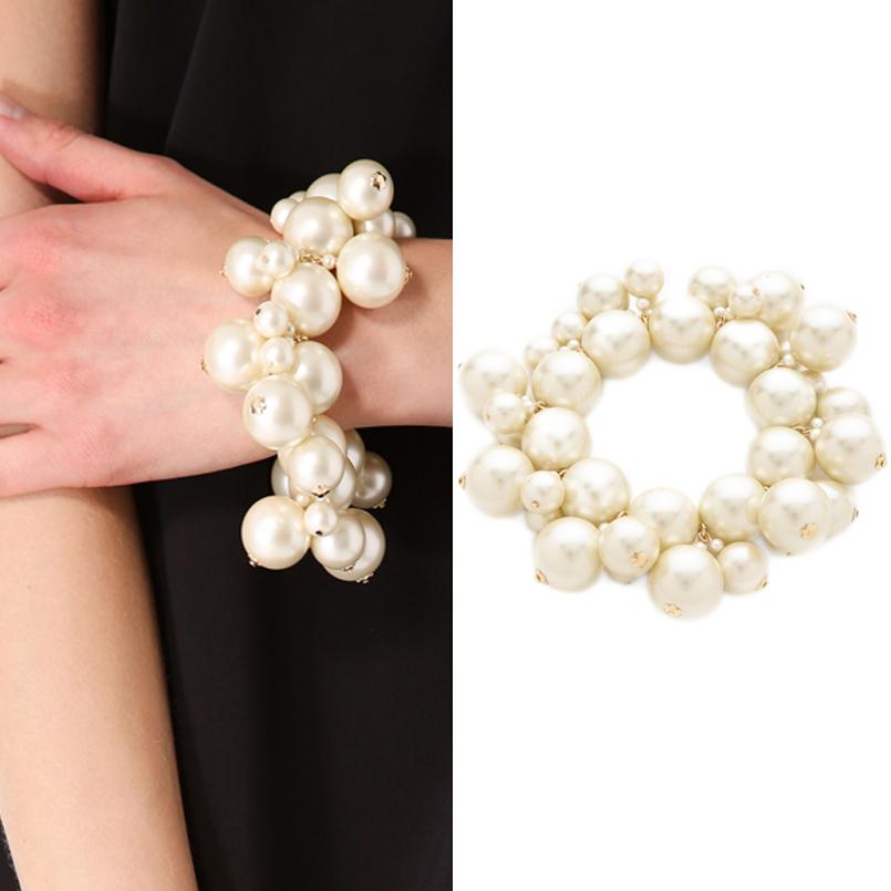 Kenneth Jay Lane Jewelry Faux Pearl Cluster Bracelet Review
