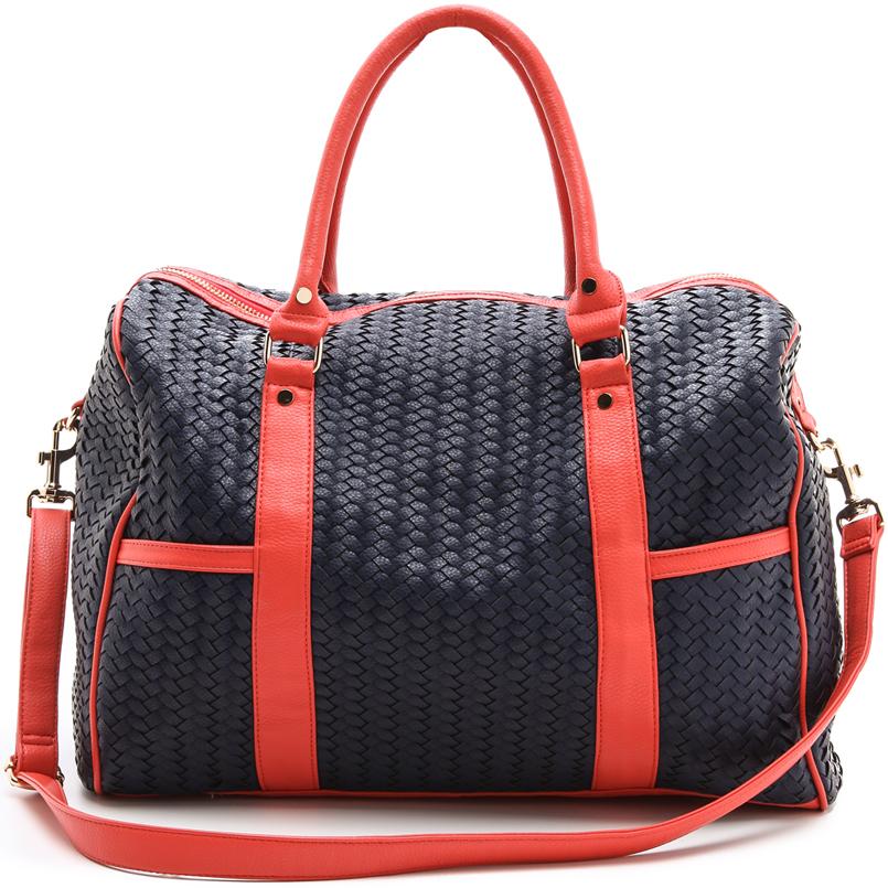 Chic & Stylish Deux Lux Eco Friendly Weekend Bag