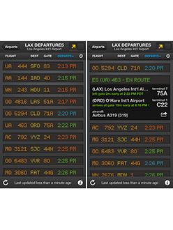 Departure & Arrival Flightboard App Review