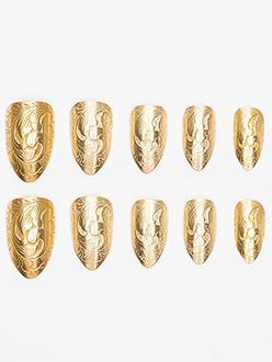 Goldfinger Press On Nails