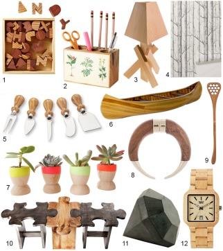 Modern Wooden Accessories
