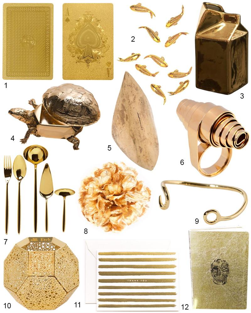 The Hit List - best Modern Gold Treasures