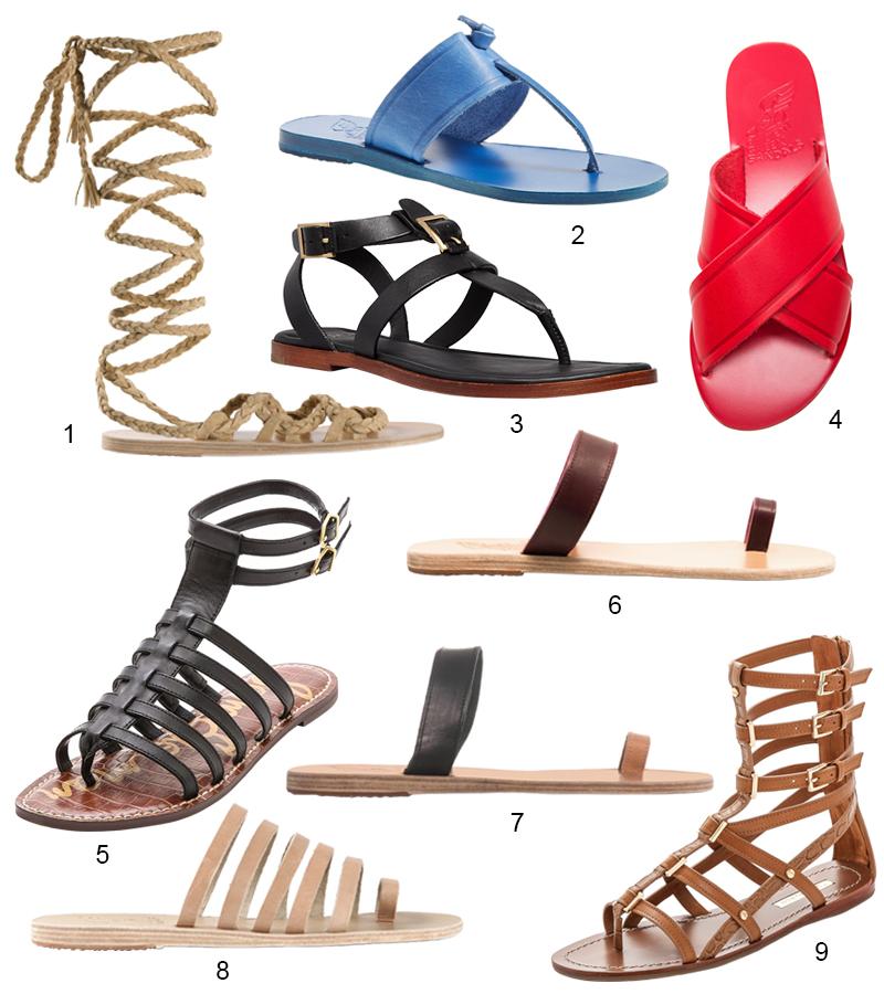 Modern Gladiator Sandals
