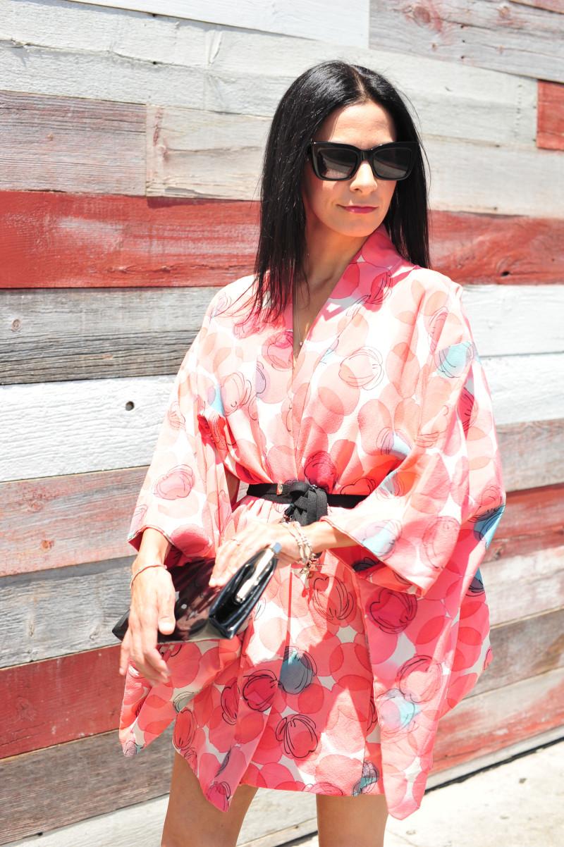 Wear A Vintage Kimono Dress