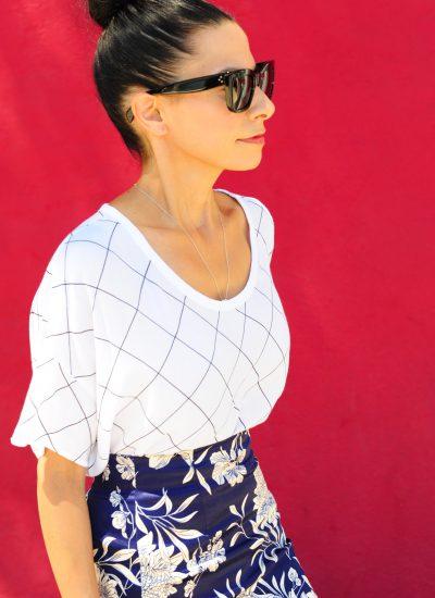 Zara Skirts - Floral Pencil Skirts