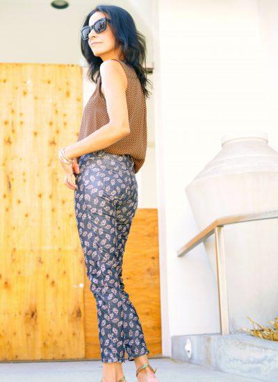 Capri Style - Polka Dot Blouse