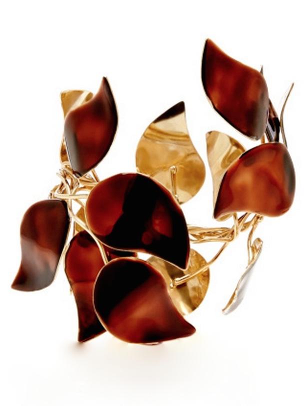 Esme Vie Birch Leaf Bracelet