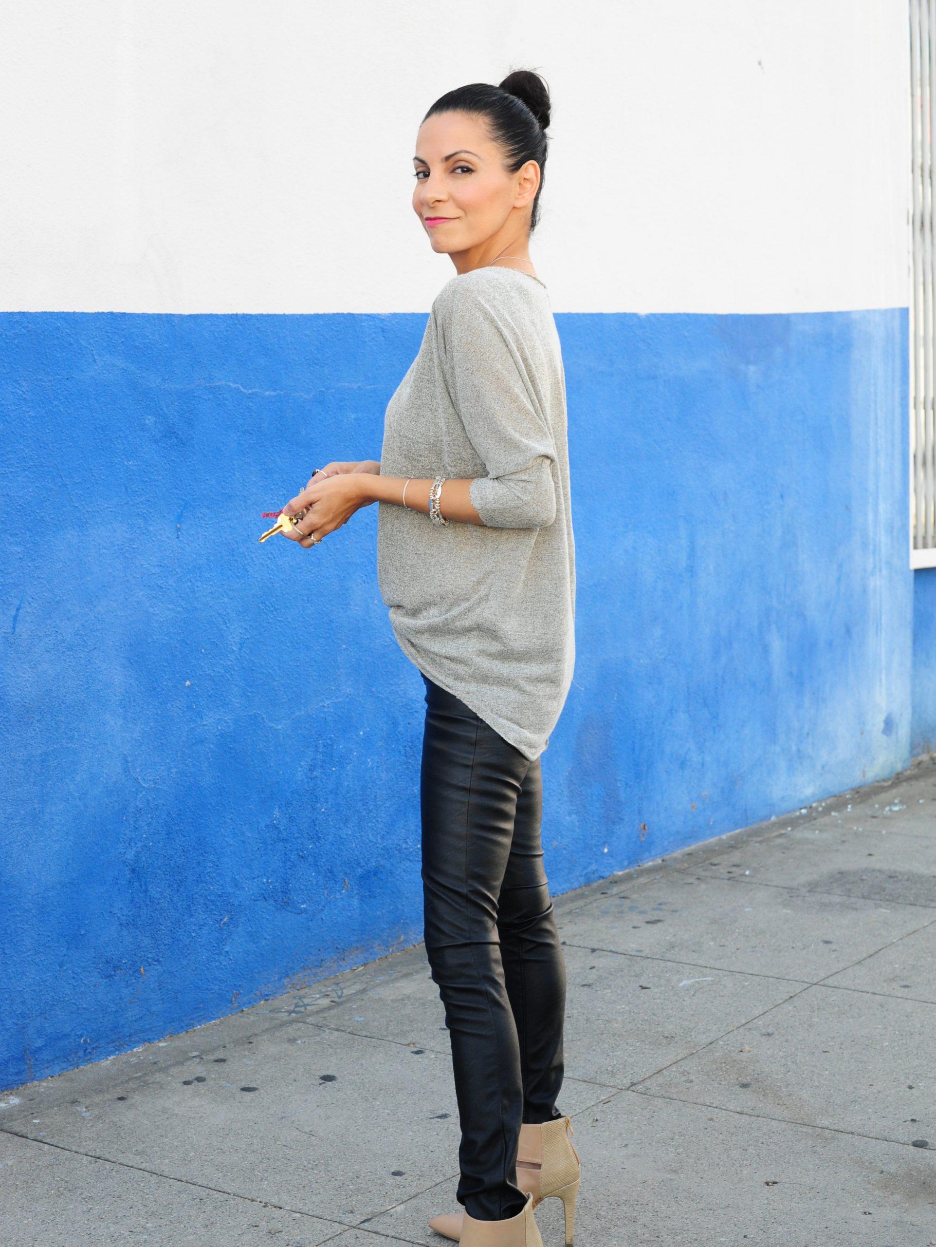 Daily Outfits - Project Social T - Blank Denim - Sole Society Wynn Heels