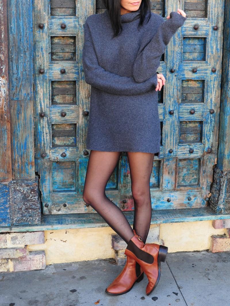Short Sweater Dress - Banana Republic Sweater