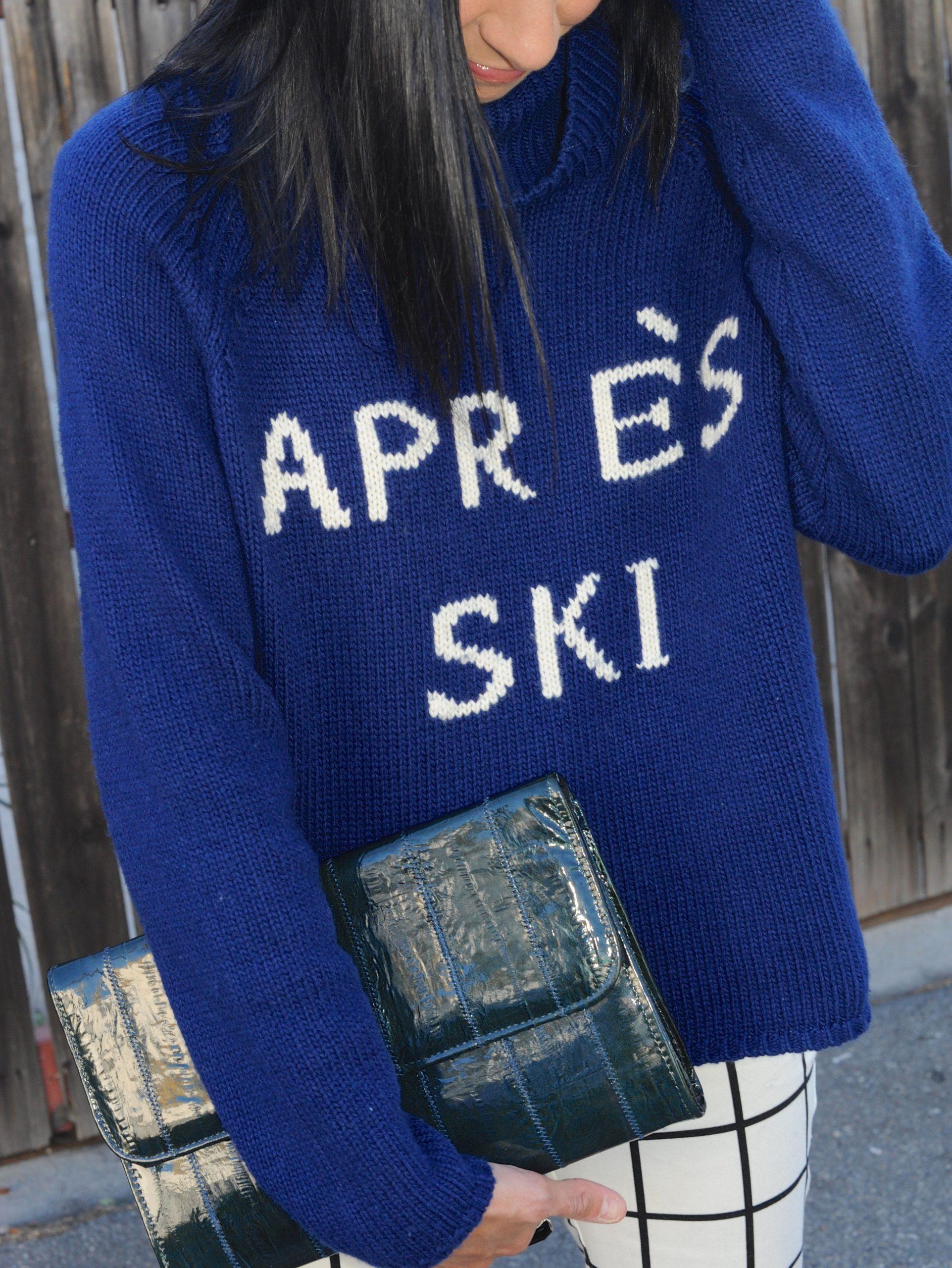 Eighth Day Of Cool - Townsen Logo Apres Ski Sweater
