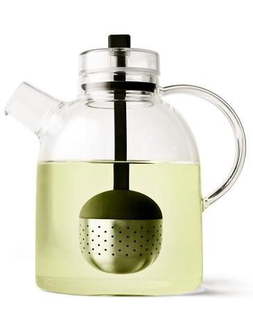 Menu - Clear Glass Teapot + Infuser Designed By Menu