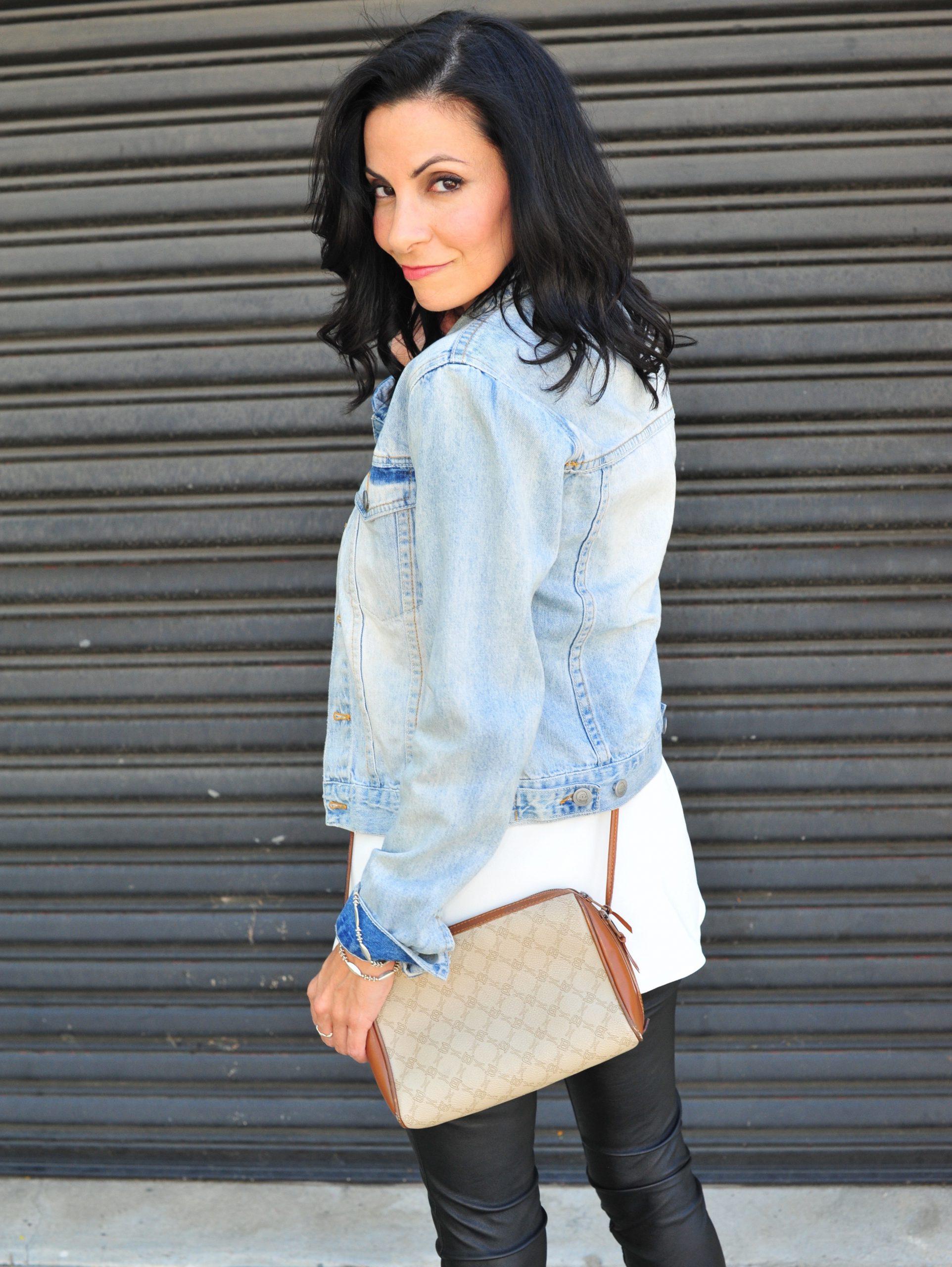 Style Tip Cheap Monday Denim Jacket