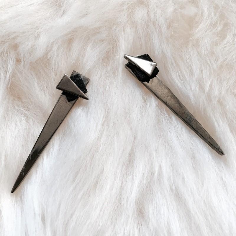Janesko Wingspan Long Double Earrings